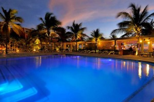Eden Beach Resort, a cozy site where you may plan to go on your next vacation. It is located in the Dutch Caribbean island territory of Bonaire in the south Caribbean Sea.